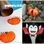 Halloween & Fall Themed Toilet Paper Roll Crafts For Kids