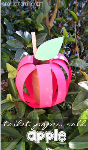 toilet-paper-roll-apple-fall-craft-for-kids