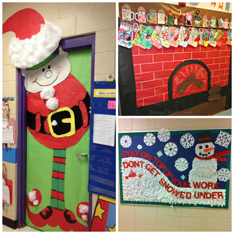 List Of Christmas Bulletin Board Ideas For The Classroom Crafty