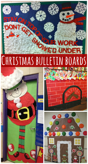 christmas bulletin board ideas for the classroom - Christmas Bulletin Board Decorations