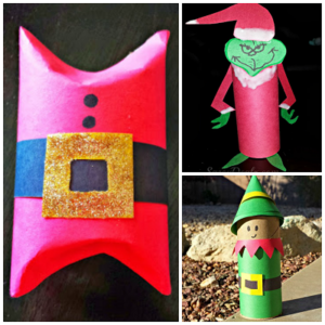 DIY Christmas Toilet Paper Roll Craft Ideas For Kids