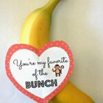 "DIY Banana Valentine's Day Gift Idea – ""You're My Favorite of the Bunch"""