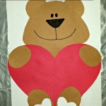 """I Love You Beary Much"" Valentine Bear Craft For Kids"