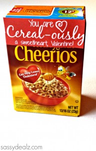 "Cereal Valentine's Day Gift Idea (""Cereal-ously"")"