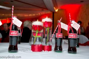 DIY Coca-Cola Bottle Wedding Favor Idea