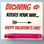 Blowing Bubbles Valentine's Day Gift Idea