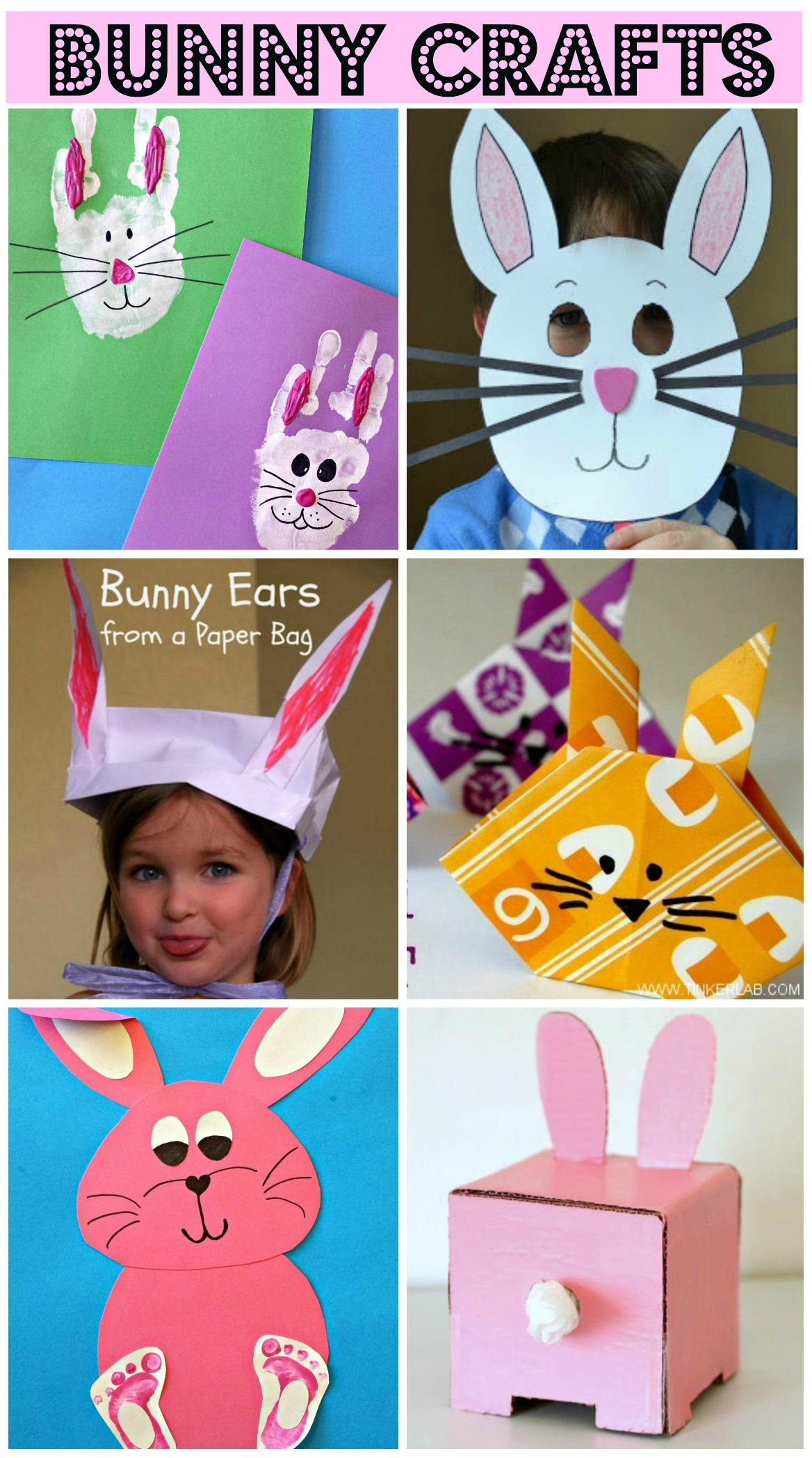 Easy Bunny Crafts for Kids - Crafty Morning