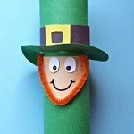 Leprechaun Toilet Paper Roll Craft For St. Patrick's Day