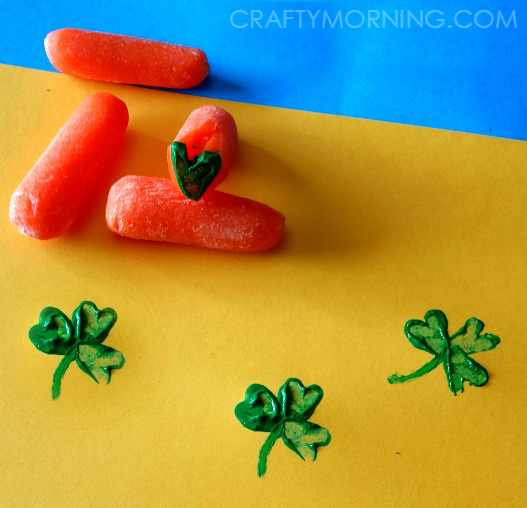 carrot-shamrock-st-patricks-day-kids-craft