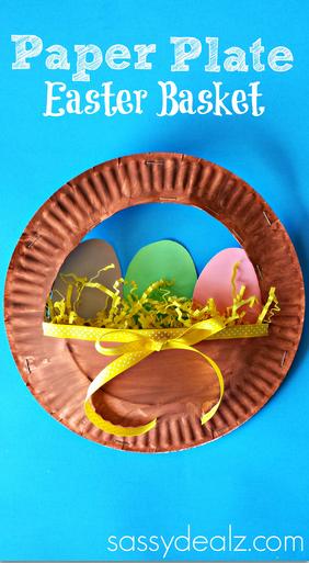 paper-plate-easter-basket-craft