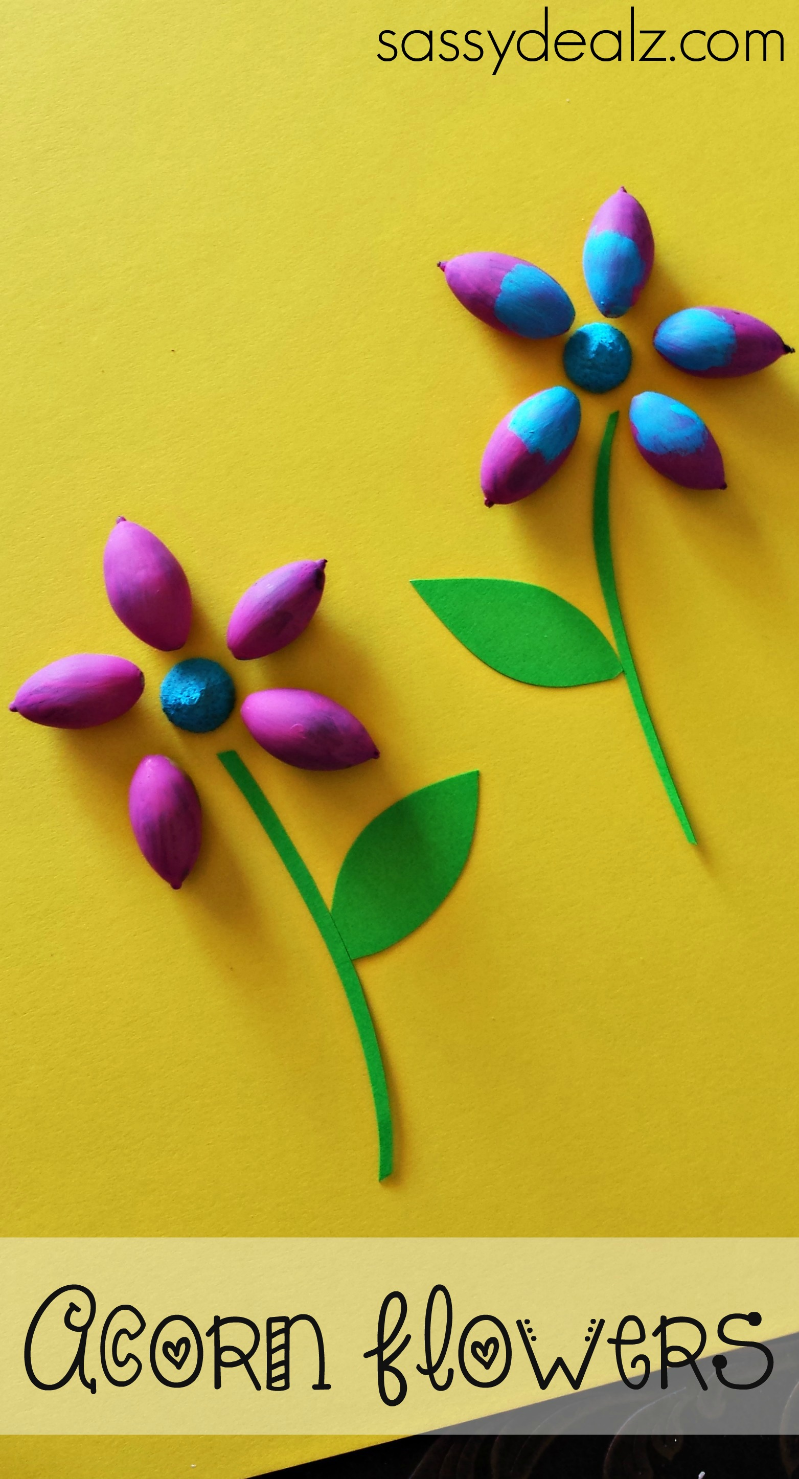 acorn-flower-craft-for-spring