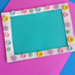 Make an Easter Frame Craft Using a Cereal Box