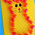 Jelly Bean Bunny Craft for Kids