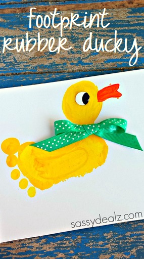 Adorable Footprint Crafts For Kids To Make Crafty Morning