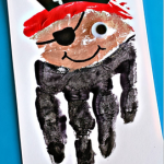 Handprint Pirate Craft for Kids (Card Idea)