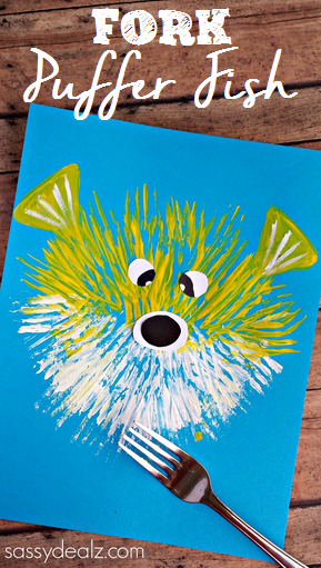 Puffer Fish Craft For Kids