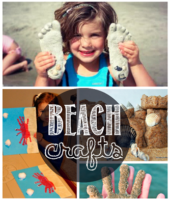 Beach Crafts For Kids To Make In The Summer