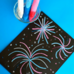 chalk-fireworks-craft-for-kids