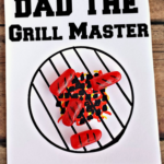 Grill Master Father's Day Card Using Mike & Ikes