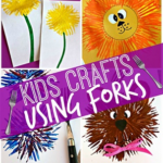 Kids Craft Ideas Using a Fork