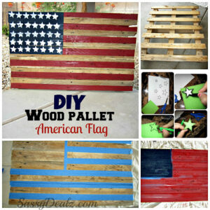 DIY: How To Make an American Flag out of a Wood Pallet (Step by Step Tutorial w/ Pictures)