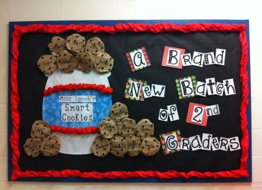 batch-of-cookies-back-to-school-bulletin-board