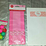 DIY Valentine's Day Bouncy Ball Gift Bag Idea