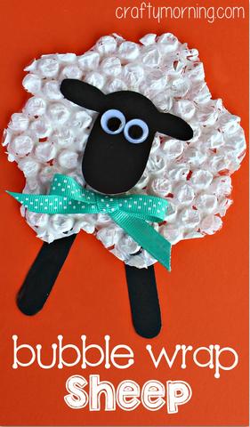 bubble-wrap-sheep-craft-