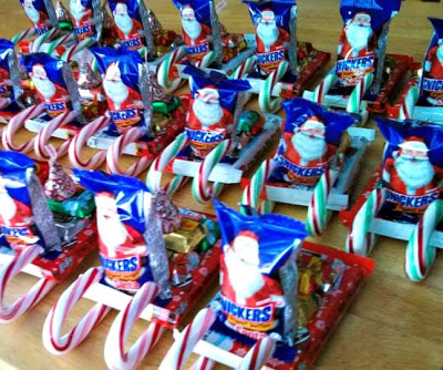 DIY Candy Santa Sleighs (Great Classroom Treats & More For ...