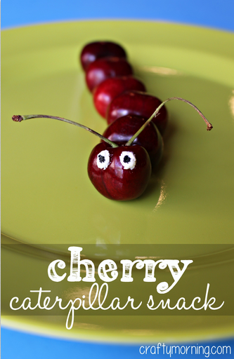 cherry-caterpillar-snack-for-kids