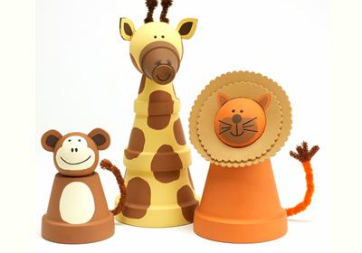 clay-pot-animal-crafts