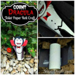 DIY: Count Dracula Vampire Toilet Paper Roll Craft For Kids (Halloween Idea!)