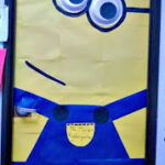 DIY Despicable Me Minion Bulletin Board/ Door Decoration For a Classroom