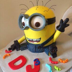 Creative Despicable Me Minion Birthday Cake Ideas