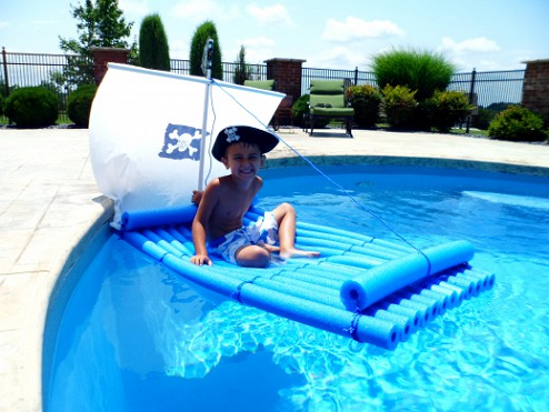diy-pool-noodle-raft-for-a-pool