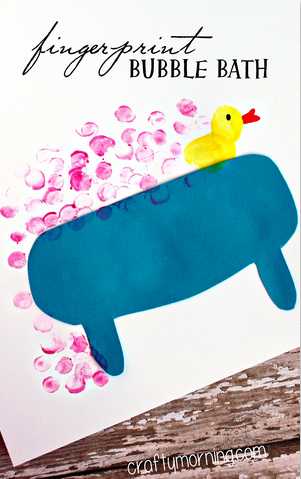 fingerprint-bubble-bath-craft-for-kids