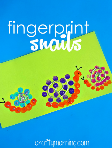fingerprint-snail-craft-for-kids