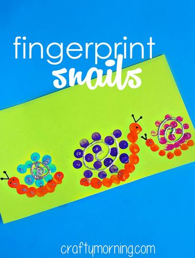 fingerprint-snail-craft-for-kids