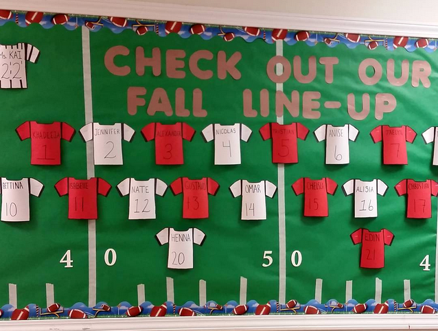 football-back-to-school-bulletin-board