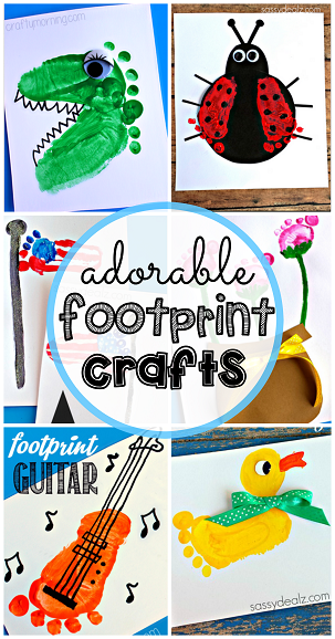 footprint-crafts-for-kids-to-make