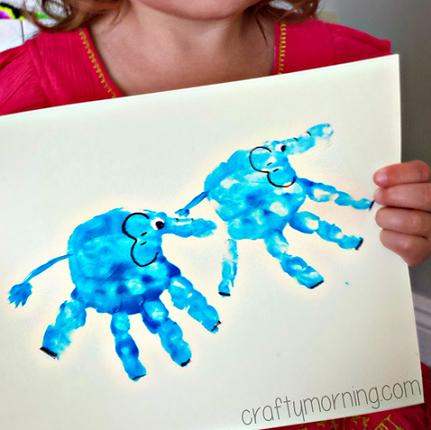 Cute Handprint Horse Craft For Kids Crafty Morning