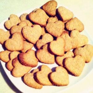 Homemade Heart Graham Crackers For Valentine's Day