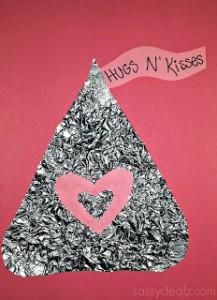 Hershey Kiss Craft For Kids {Valentine's Day Idea}