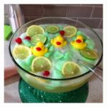 Lime Sherbet Punch Recipe {Rubber Ducky Baby Shower Idea}
