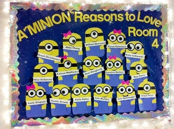 minion-back-to-school-bulletin-board