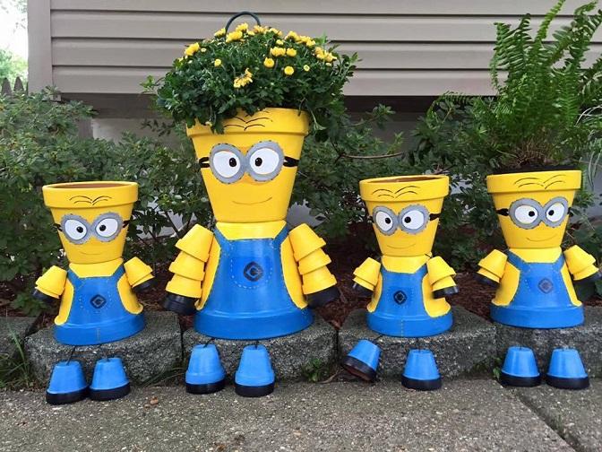 minion-flower-pots