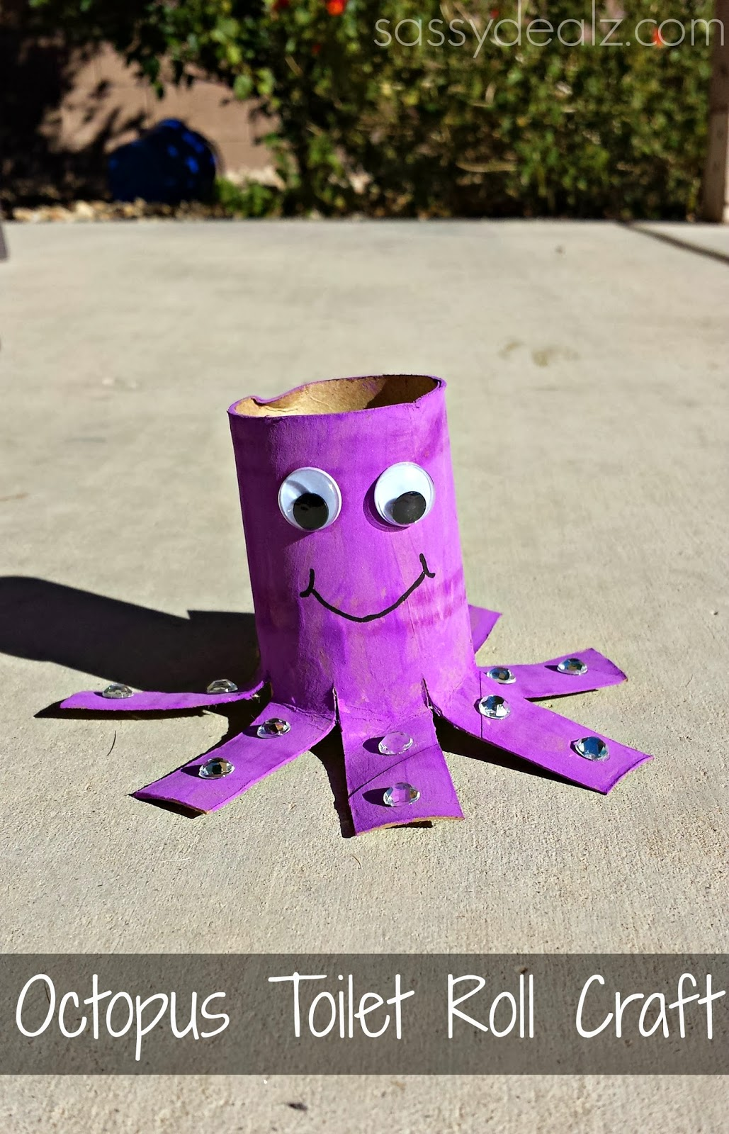 craft ideas using empty toilet paper rolls octopus toilet paper roll craft for crafty morning 8046