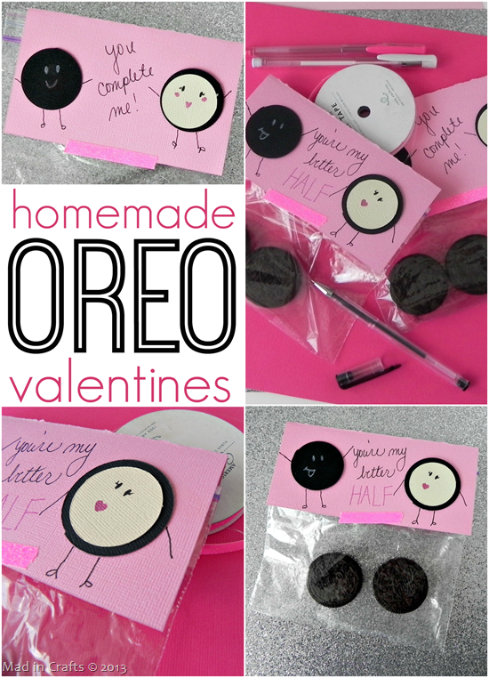 Oreo Valentine S Day Gift Idea For Kids Crafty Morning