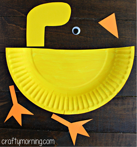 paper-plate-duck-craft