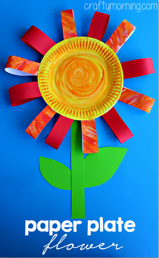 paper-plate-flower-craft-for-kids